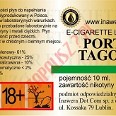 PORT TAGOS 18mg/ml poj. 10ml INAWERA LIQUID