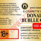 DONALD BUBBLE GUM  poj. 100ml INAWERA LIQUID bez nikotyny