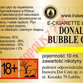 DONALD BUBBLE GUM  6mg/ml poj. 10ml INAWERA LIQUID