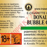 DONALD BUBBLE GUM 18mg/ml poj. 10ml INAWERA LIQUID