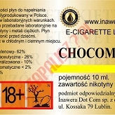 CHOCOMINT  6mg/ml poj. 10ml LIQUID INAWERA