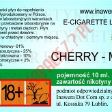 CHERRY-MINT 18mg/ml poj. 10ml DUETY INAWERA LIQUID