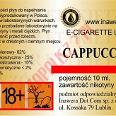 CAPPUCCINO 12mg/ml poj. 10ml INAWERA LIQUID