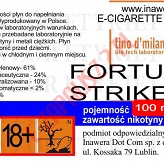 FORTUNA STRIKE 24mg/ml poj. 100ml LIQUID INAWERA